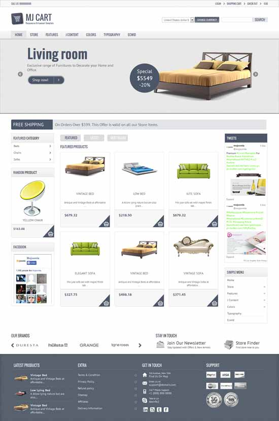 Furniture-E-commerce-Responsive-Joomla-Template