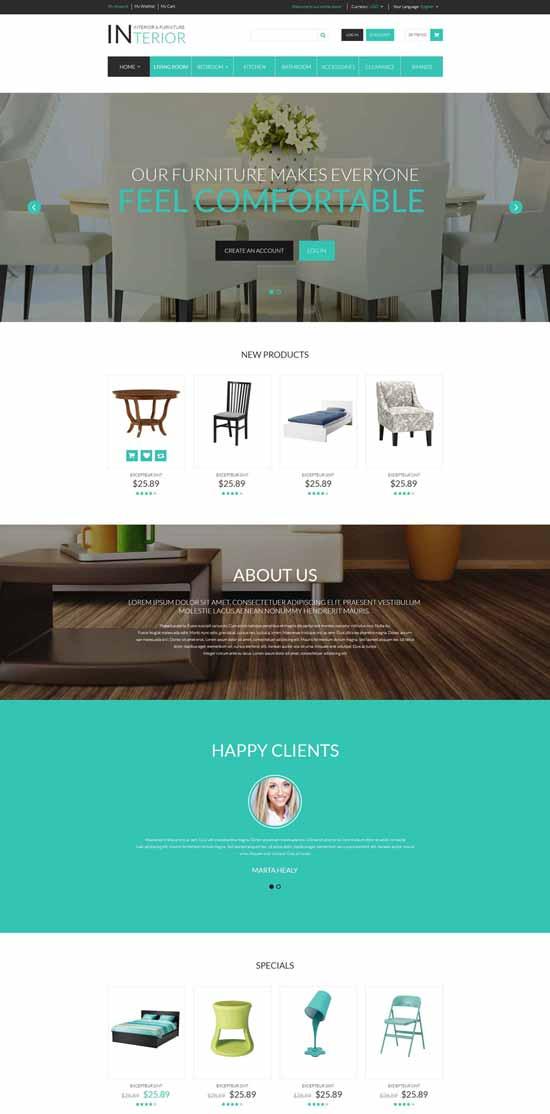 Furniture-Responsive-Magento-Theme