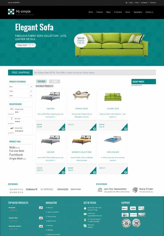 Furniture-Responsive-eCommerce-theme