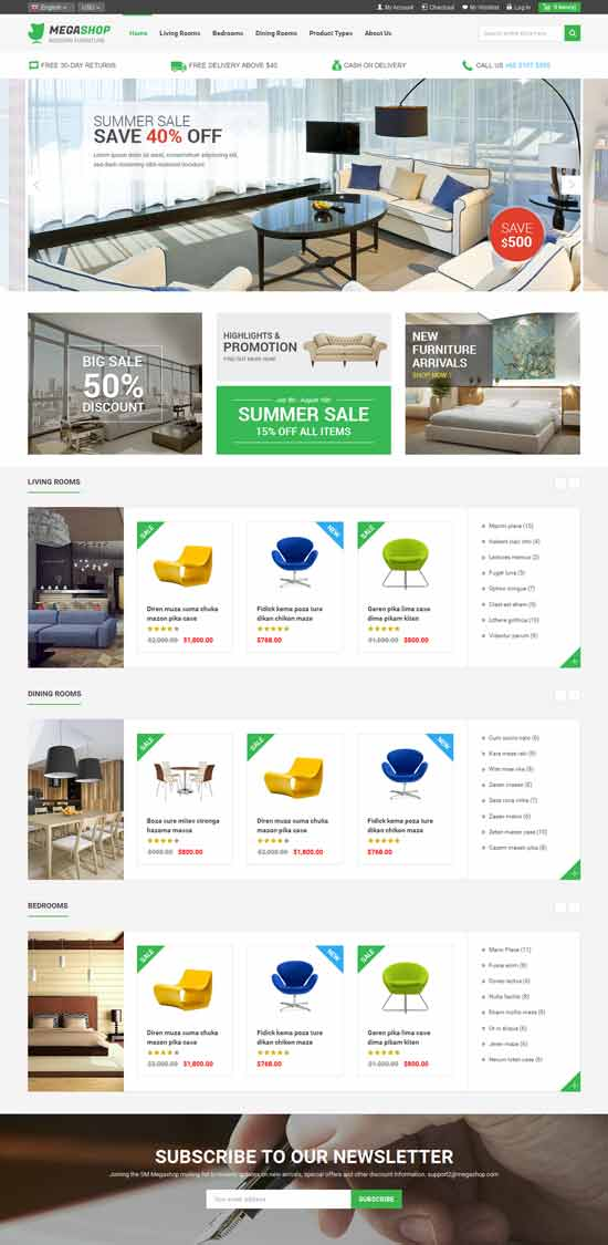Furniture-Stores-Responsive-Magento-Theme