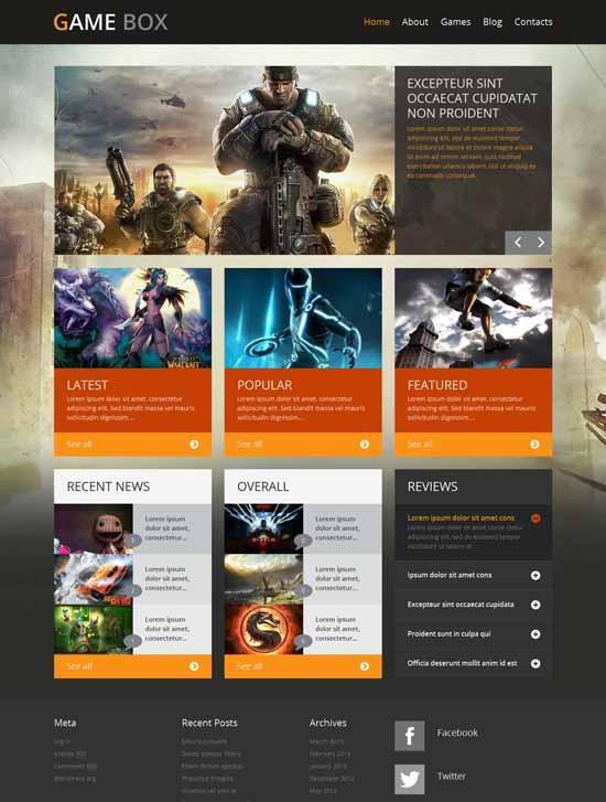 Game-Portal-WordPress-Theme