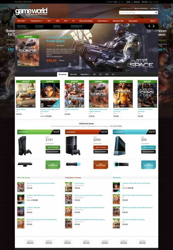 GameWorld-Responsive-HTML-Game-Template