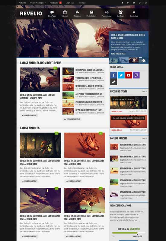 Gaming-Template-HTML