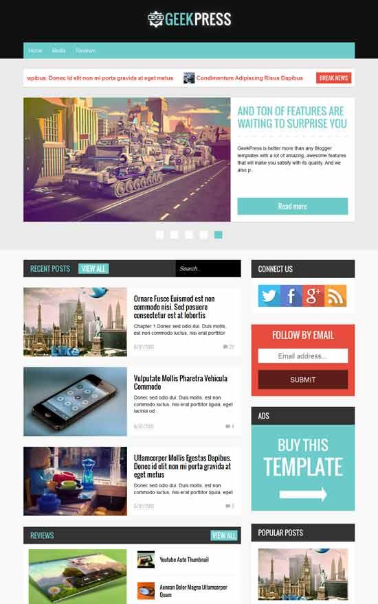 Geek-Press-Responsive-News-Magazine-Template