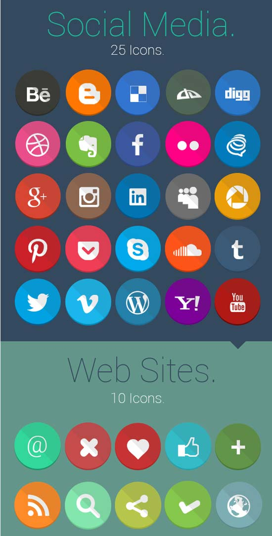 Geekly-40-Flat-Icons