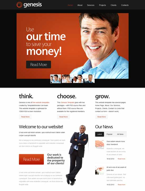 Genesis-Free-Consulting-Website-Template