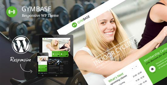 GymBase Fitness Gym Website Templates