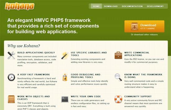 HMVC PHP5 framework