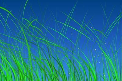 HTML5-Canvas-Grass-Animation