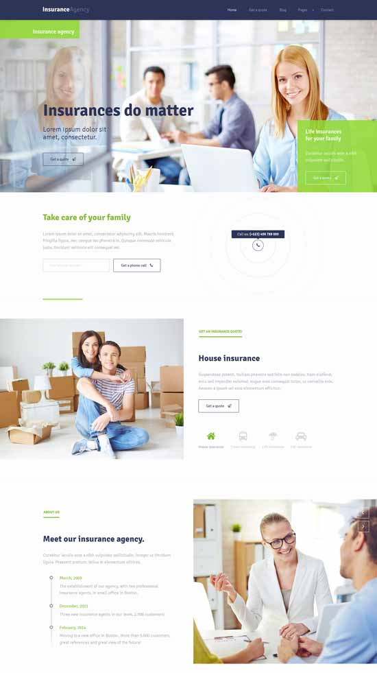 HTML5-template-for-Insurance-Agency