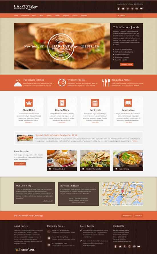 Harvest-Restaurant-Food-Joomla-Theme