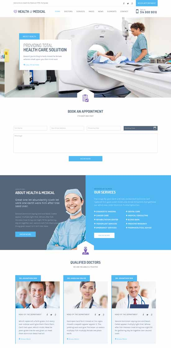 Health-Medical-HTML-Template