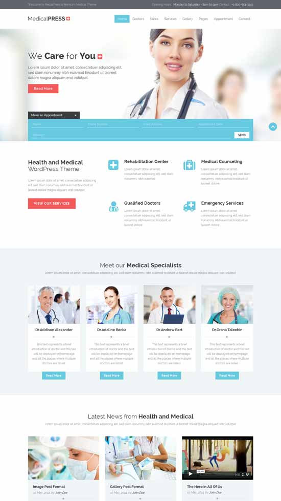 Health-and-Medical-HTML-Template