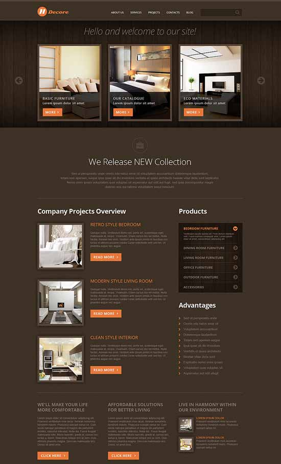 Home-Decor-Responsive-Joomla-Template