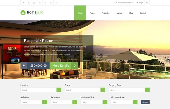 Homeland-Responsive-Real-Estate-WordPress-Theme