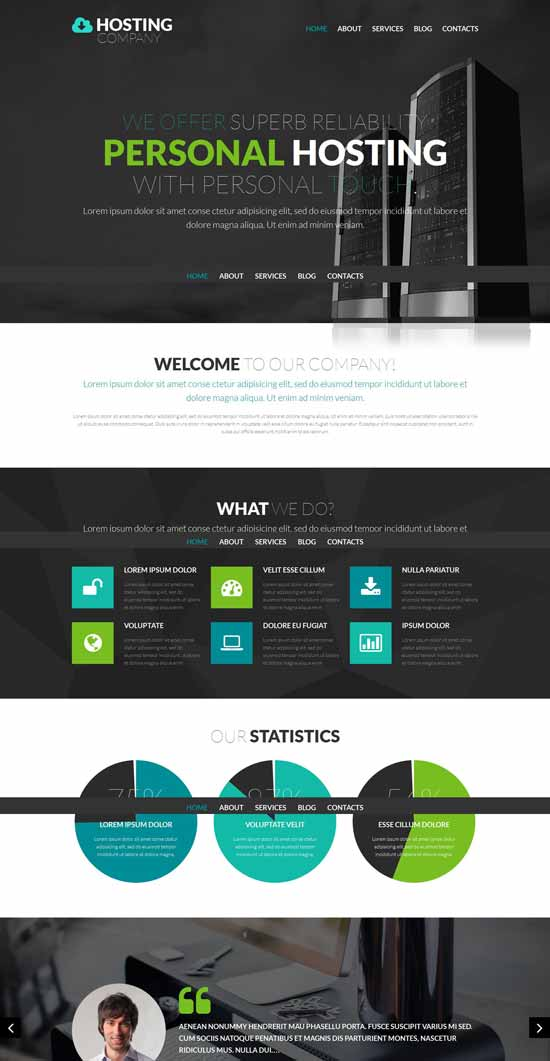 Hosting-Provider-WordPress-Theme