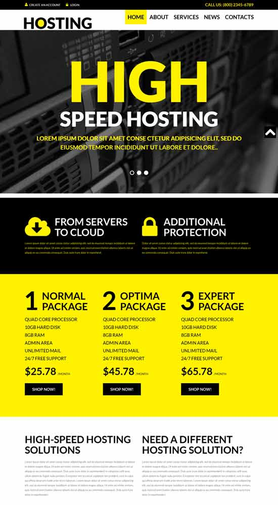 Hosting-Solutions-WordPress-Theme