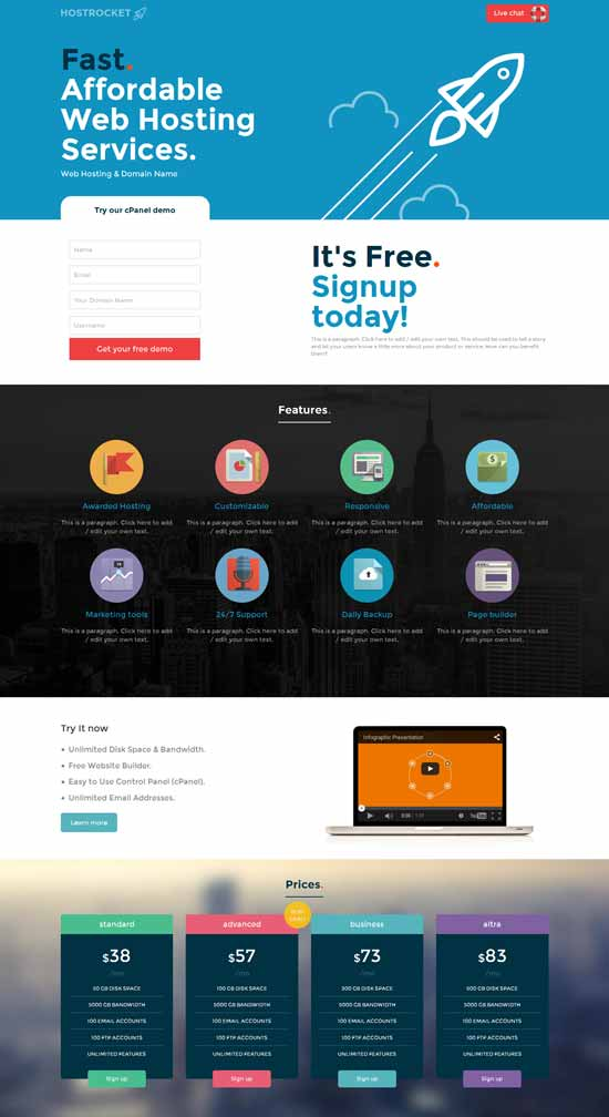 Hostrocket-HTML5-Template