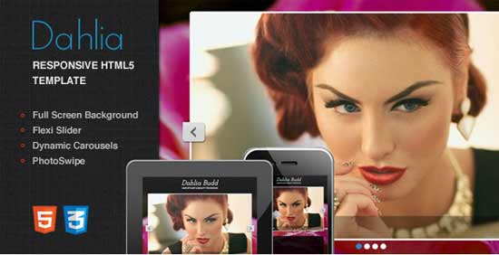 Dahlia - Responsive Beauty Salon One Page Html5 Template