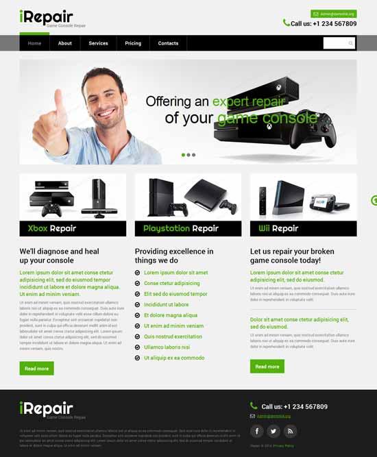 IT-Computer-Repair-Responsive-Website-Template