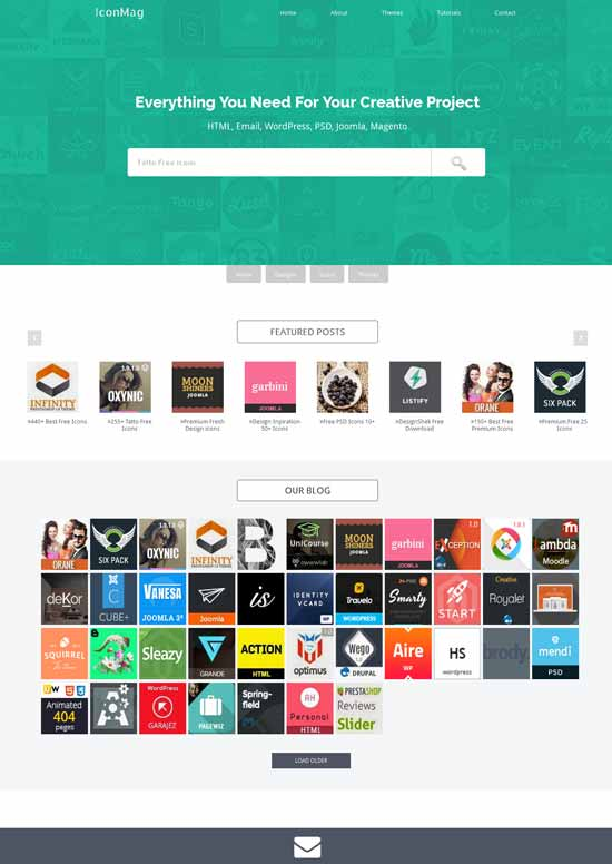 Icon-Mag-Free-Responsive-Blogger-Template