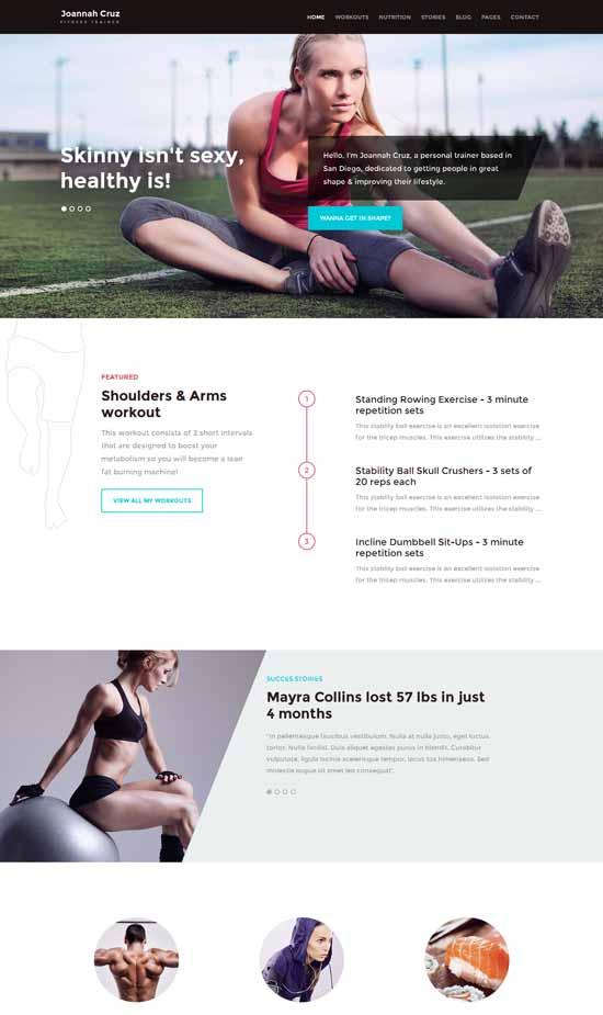 In-Shape-Fitness-WordPress-Theme