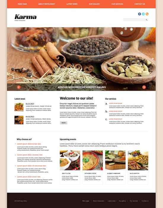 Indian-Restaurant-Joomla-Template