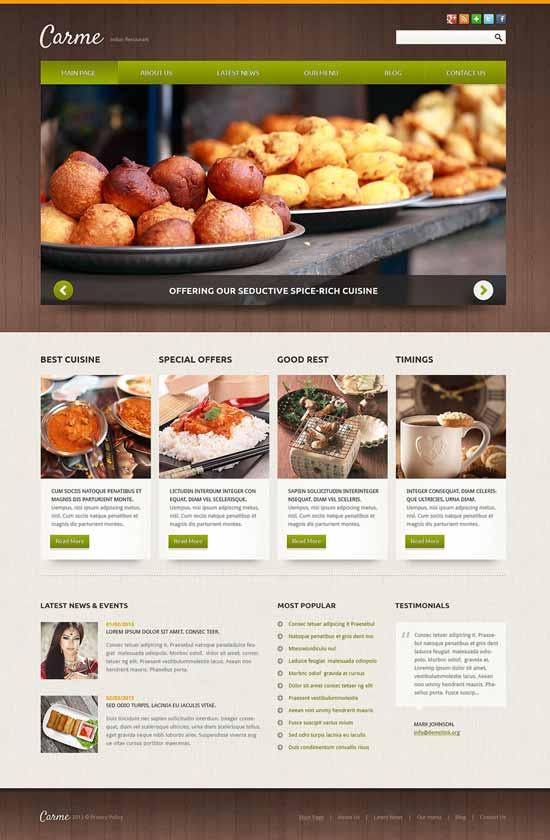 Indian-Restaurant-Responsive-Joomla-Template