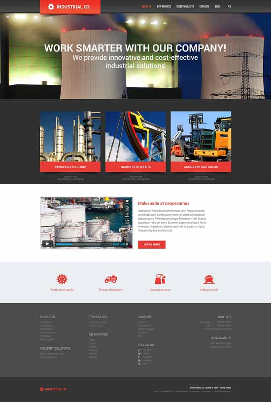 Industrial-Evolution-WordPress-Theme
