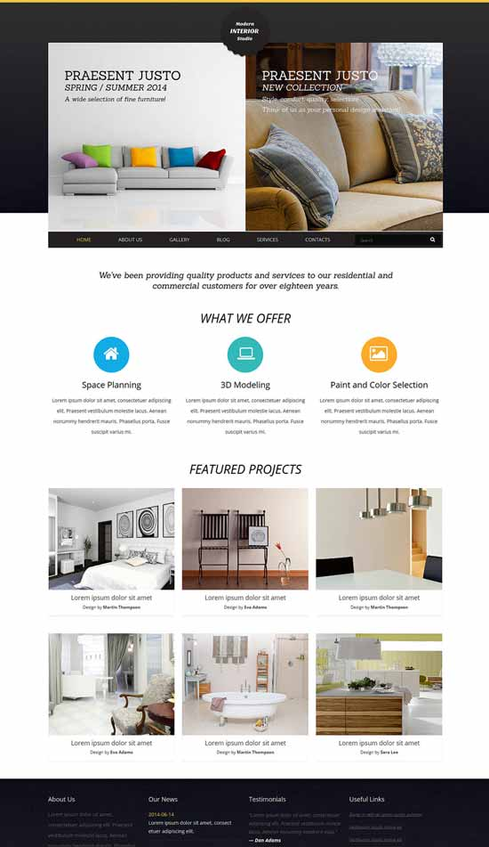 Interior-Art-Joomla-Template