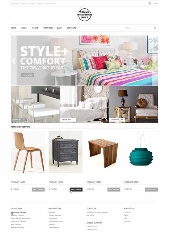 Interior-Design-Responsive-eCommerce-Theme
