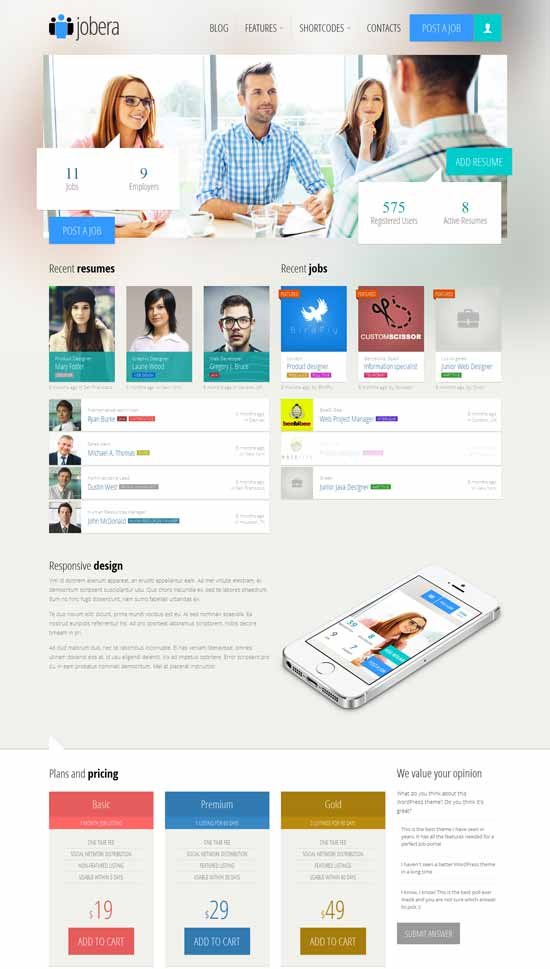 Jobera-Job-Portal-WordPress-Theme