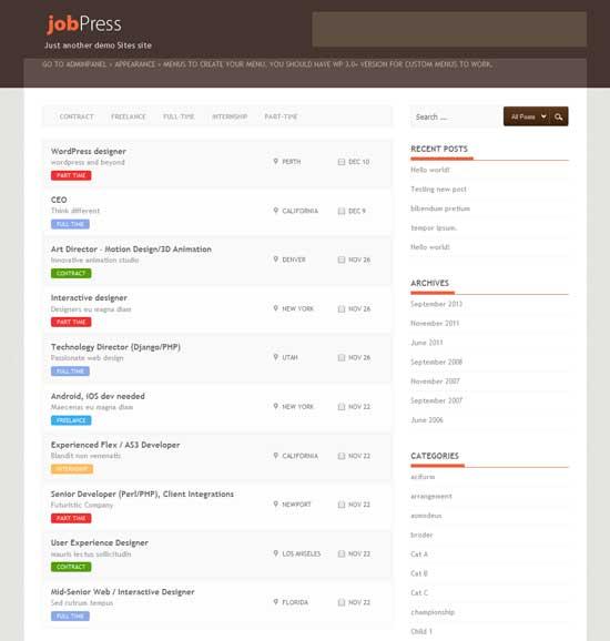 Jobpress-Free-Job-Board-WordPress-Themes