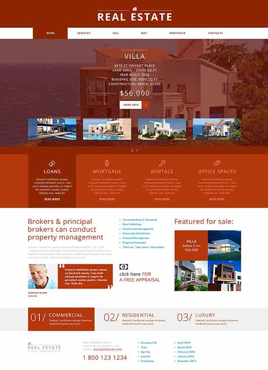 Joomla-Real-Estate-Agency-Template
