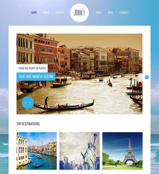 Journey-Free-HTML5-Travel-Template