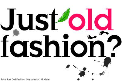 Just Fashion fonts