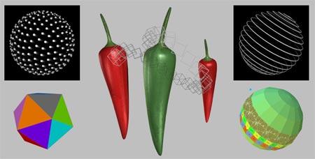 K3D HTML5 Canvas demos