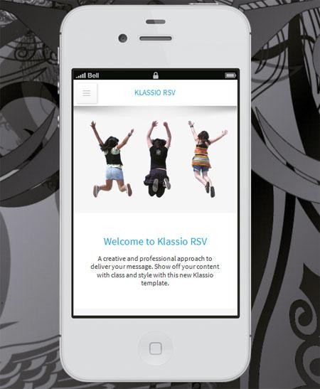 Klassio-RSV-Responsive-WordPress-Mobile-Template
