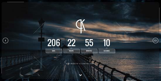 Klif-Responsive-Coming-Soon-Template
