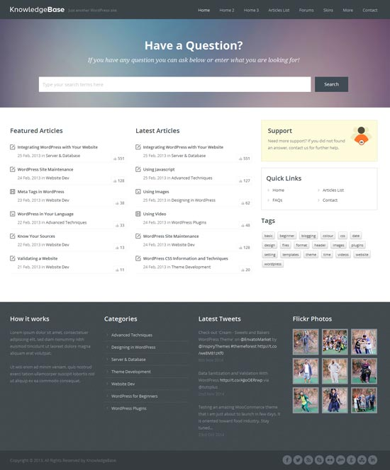 Knowledge-Base-WordPress-Wiki-Theme