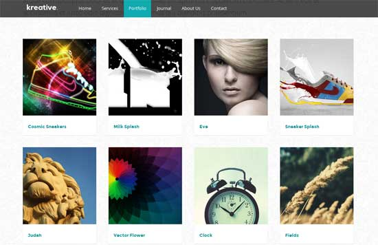 Kreative-Free-Single-Page-Template