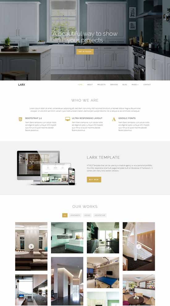 LARX-Interior-Design-Studio-Template