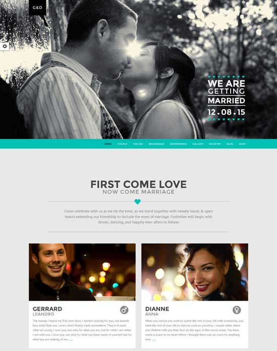 LUV-Responsive-One-Page-HTML-Wedding-Template