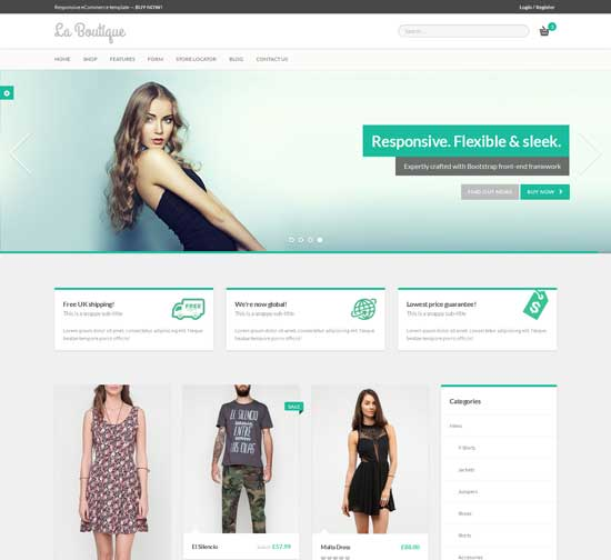 La-Boutique-Responsive-eCommerce-Template