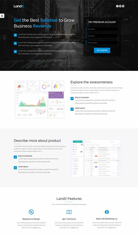 LandX--Wordpress-Landing-Page