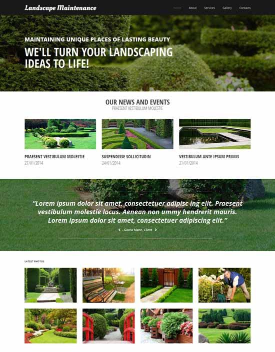 Landscape-Exterior-Design-Website-Template