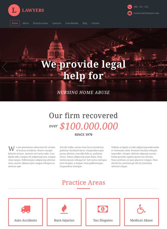 Lawyers-Responsive-Business-HTML5-Template
