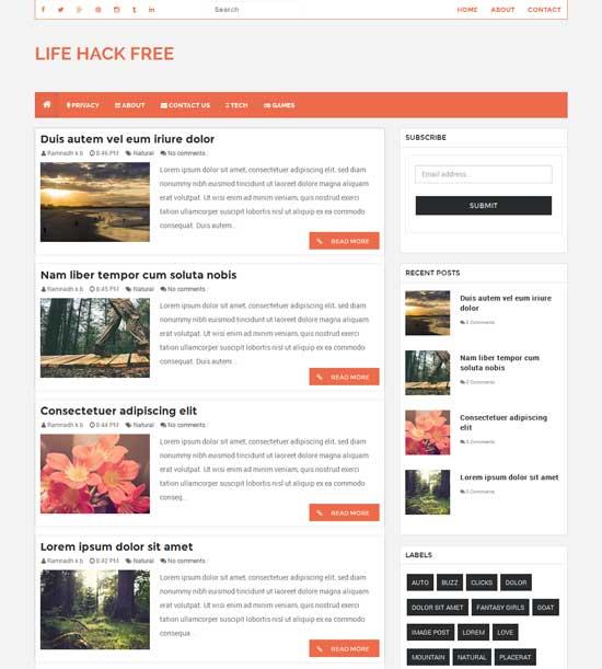 LifeHack-Free-Responsive-Blogger-Template