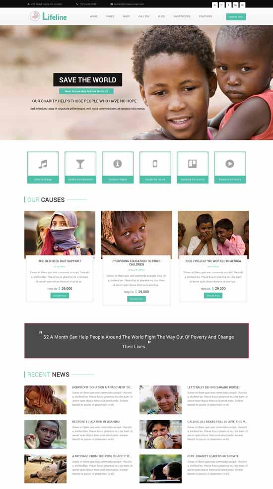 Lifeline-NGO-Charity-Fund-Raising-WordPress-Theme