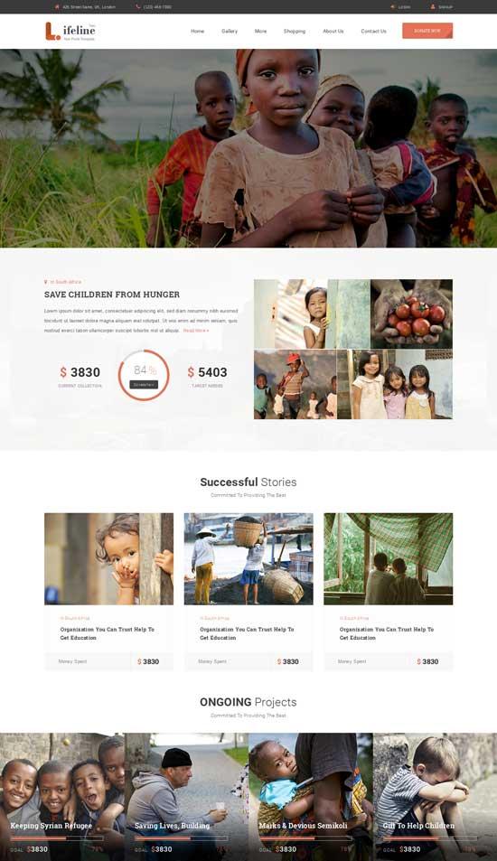 Lifeline-Non-profit-HTML-Template